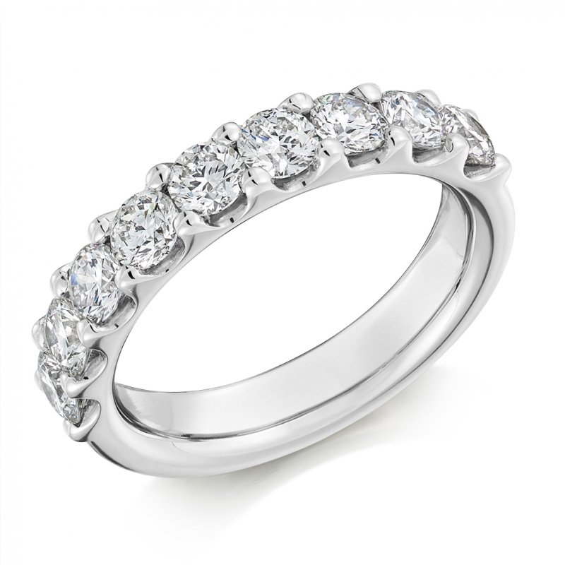 1.50ct Micro-claw Diamond Eternity Ring