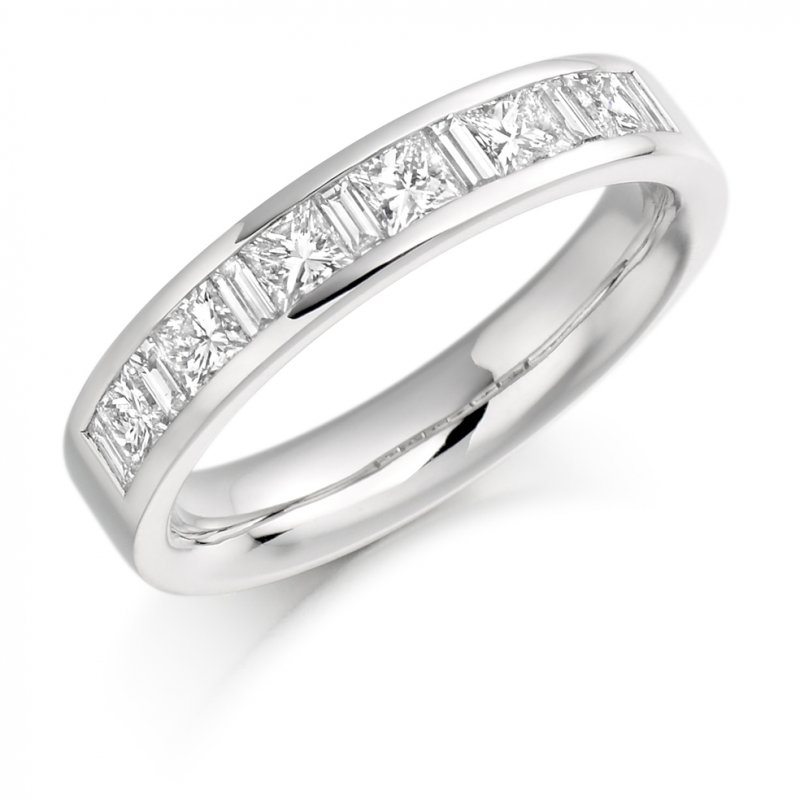1.00ct Mixed Cut Channel Diamond Eternity Ring