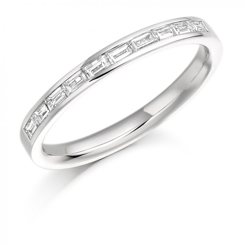 0.30ct Baguette Channel Diamond Band