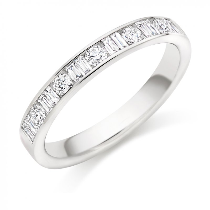 0.50ct Micro-claw Set Diamond Band