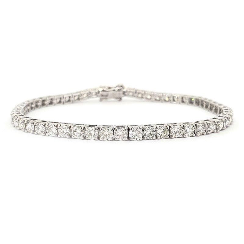 5.21ct Laboratory Created Diamond Tennis Bracelet £4125.00