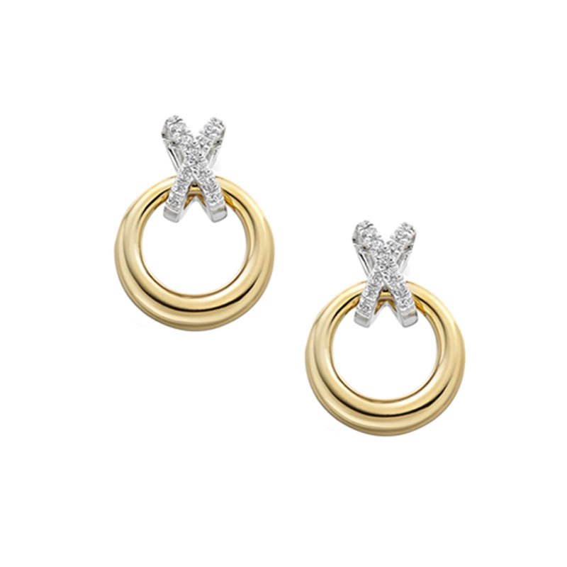 0.15ct Diamond Kiss Studs