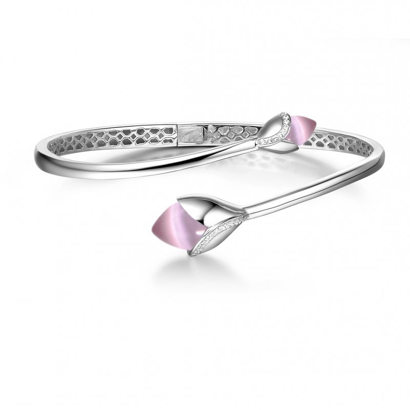 Magnolia Bangle Pink £240.00