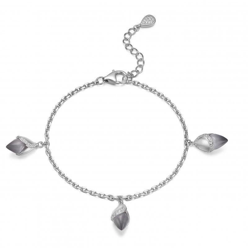 Magnolia Bracelet Grey £180.00