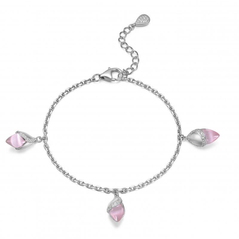 Magnolia Bracelet Pink £180.00