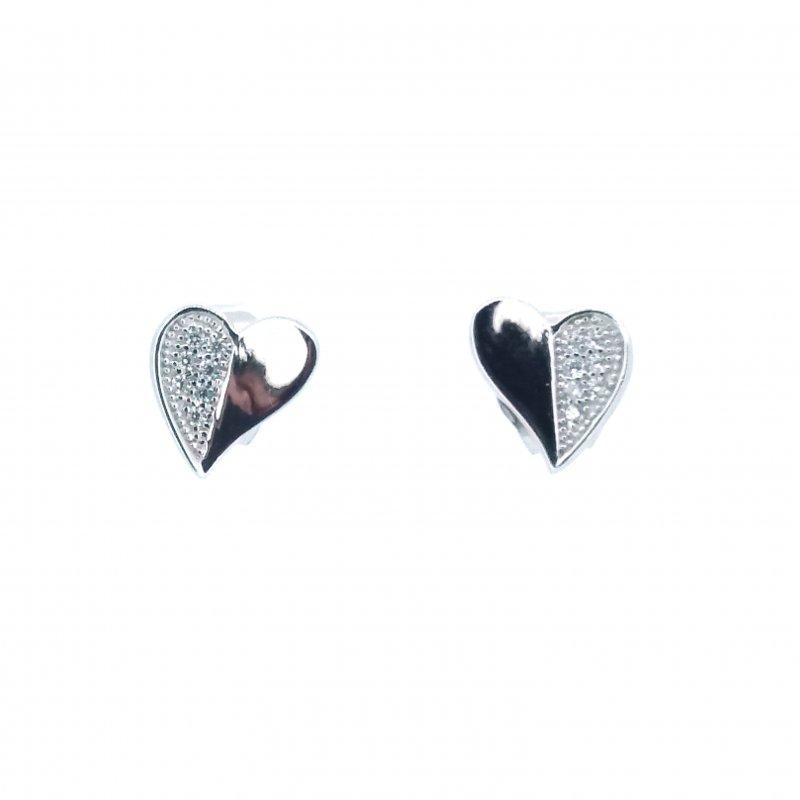 Little Love Heart Stud Earrings