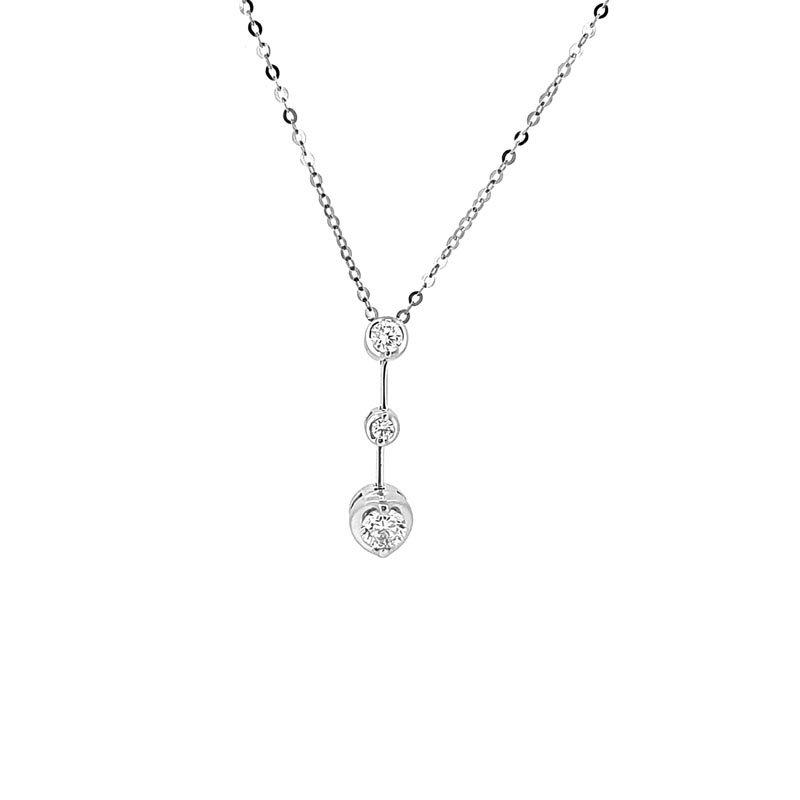 Diamond Rosabella Trilogy Pendant