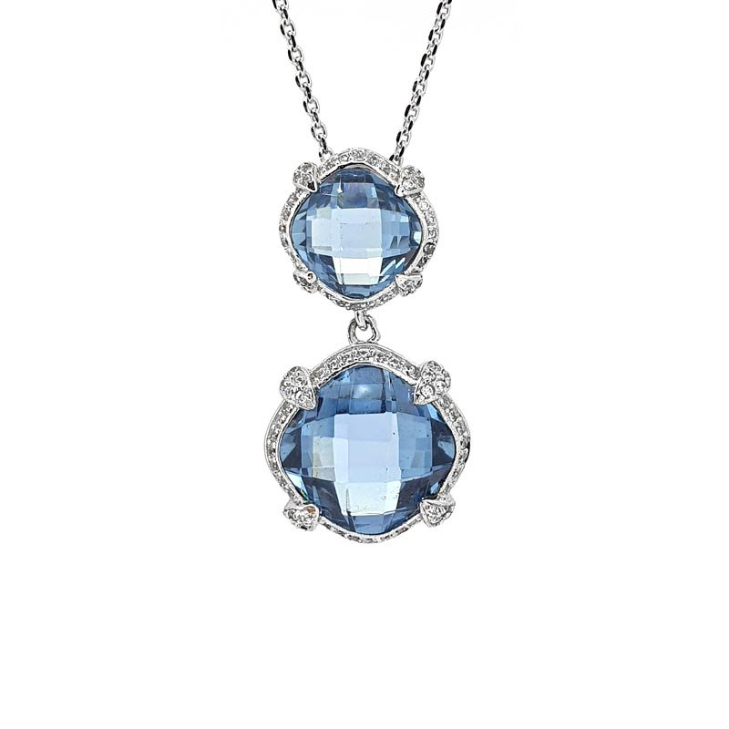 Georgini Manhattan Blue Necklace £129.00