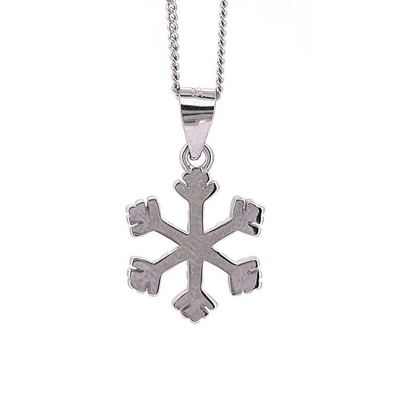 Silver Snowflake Necklace £25.00