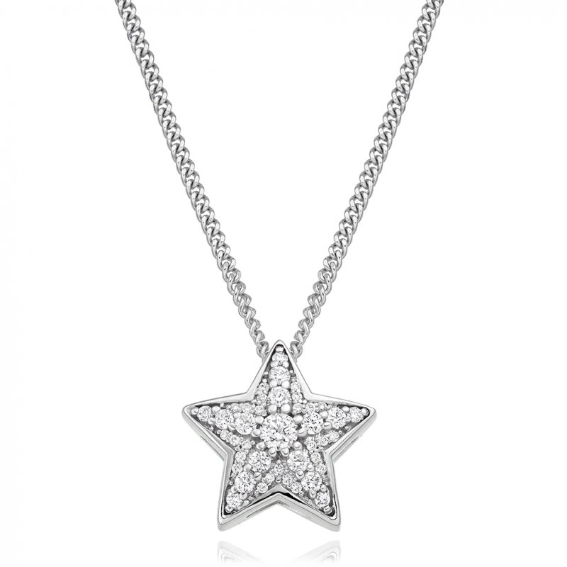 0.27ct Star Pendant