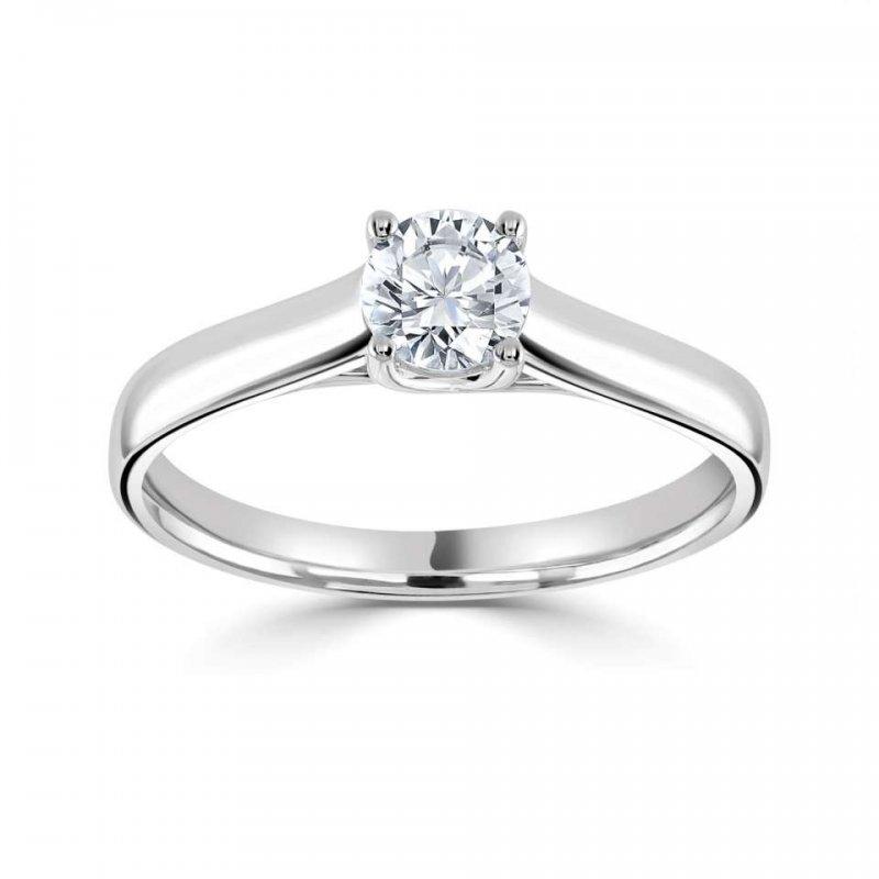 Laboratory Created Diamond Engagement Rings