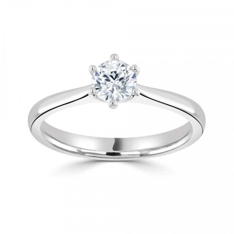 0.37ct Lab Grown Diamond Engagement Ring £711.00