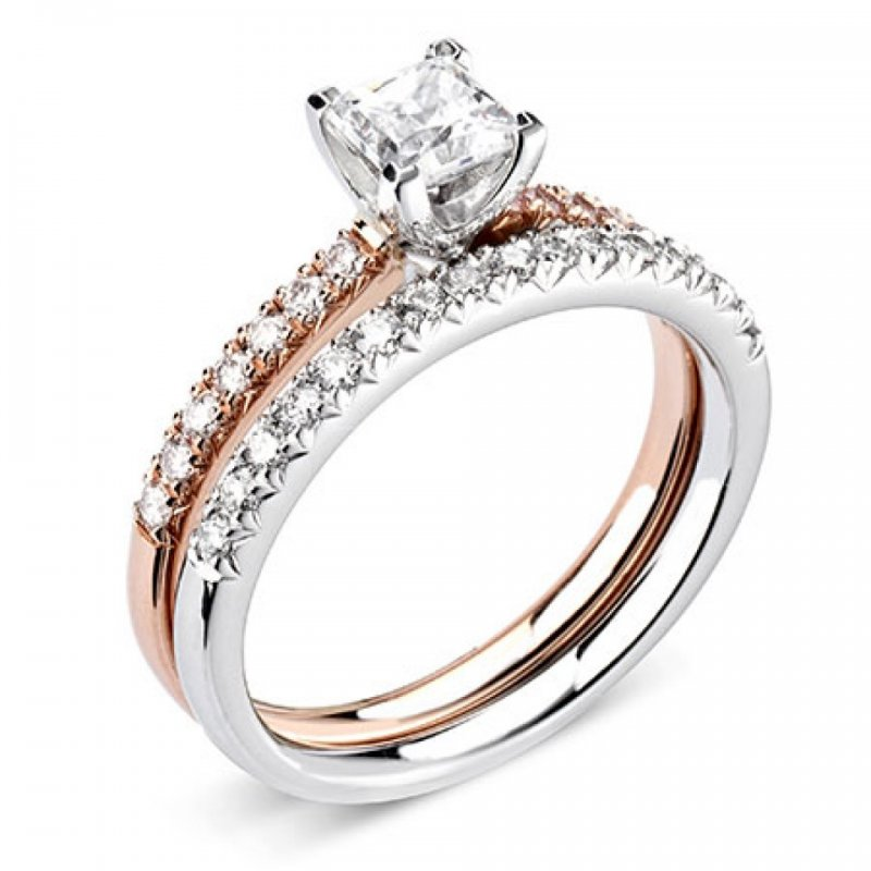 Princess Four Claw Solitaire Red