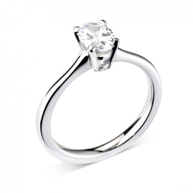 Oval Four Claw Solitaire