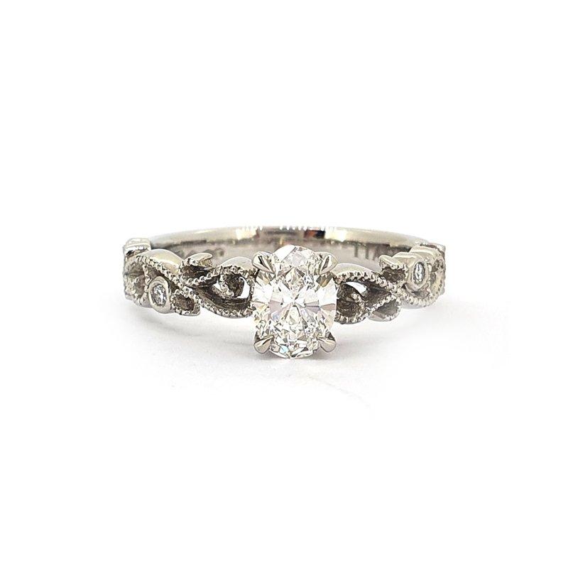 0.50ct Oval Diamond Sophia Ring £2950.00