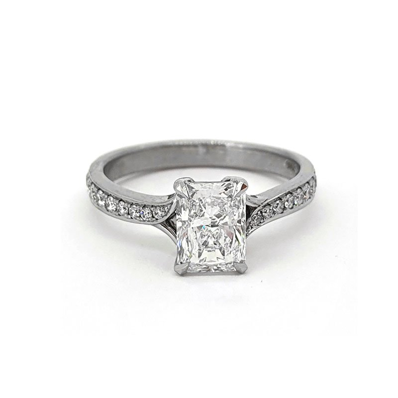 1.09ct Radiant Diamond Ring £8000.00