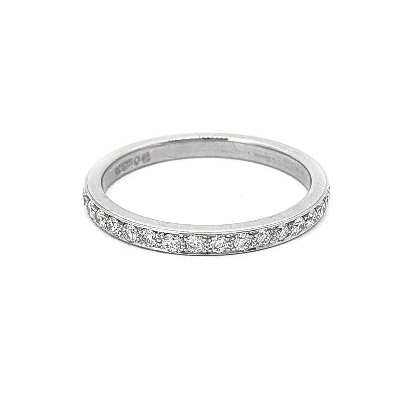 0.45ct TGO Platinium Vintage Grain Set Diamond Ring £1450.00