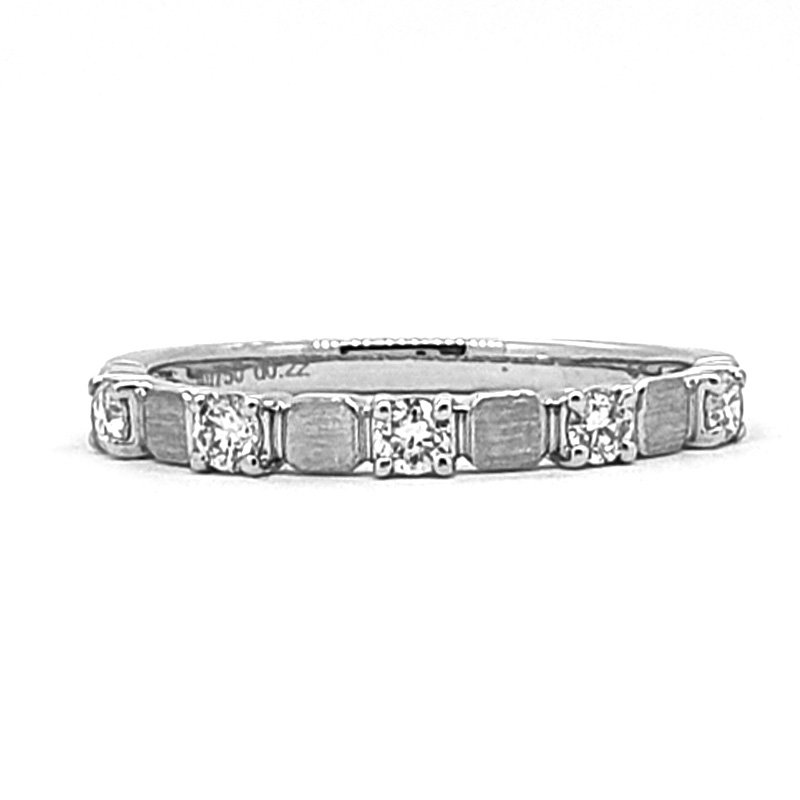 0.22ct Art-Deco Style Wedding Band