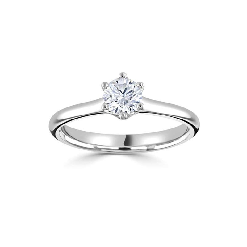 0.40ct Four Claw Solitaire