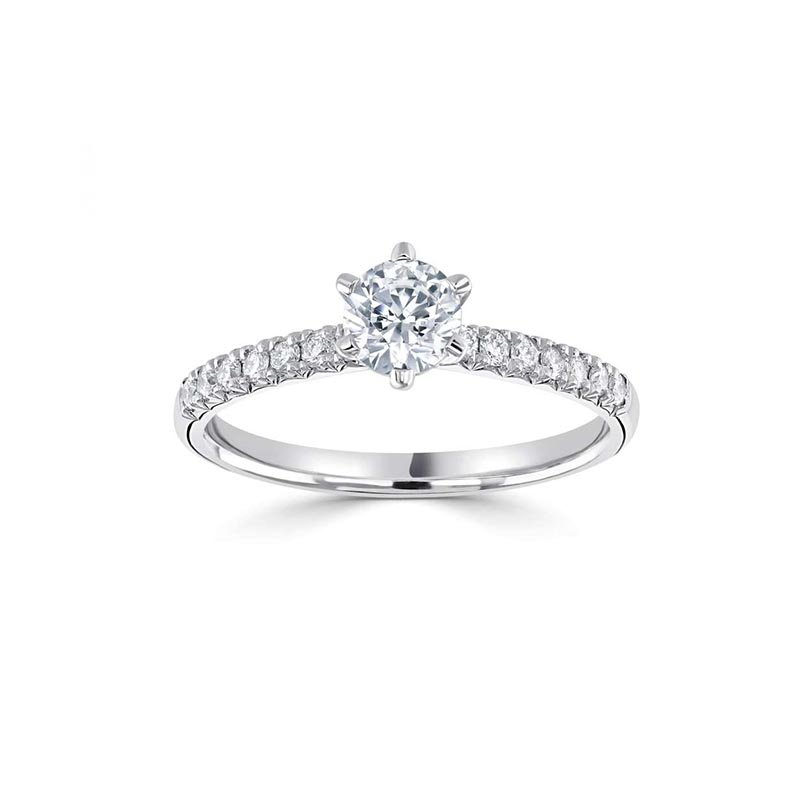 0.70ct Classic Six Claw Solitaire £2887.00