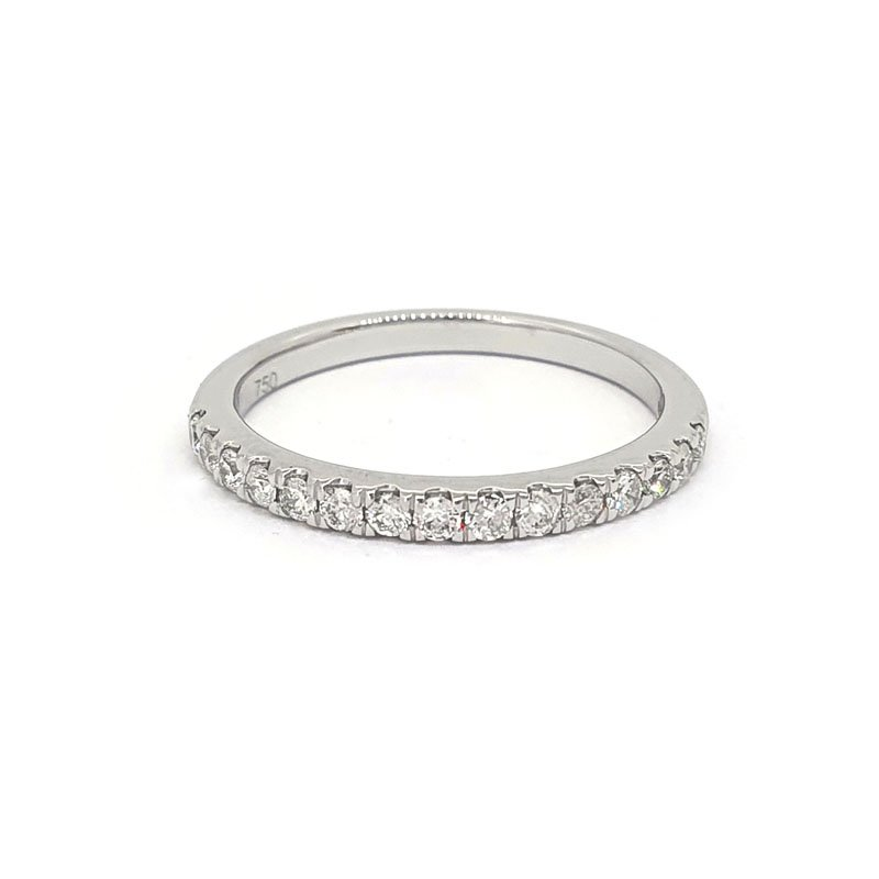 0.24ct 18ct Gold Castle Set Diamond Ring £490.00