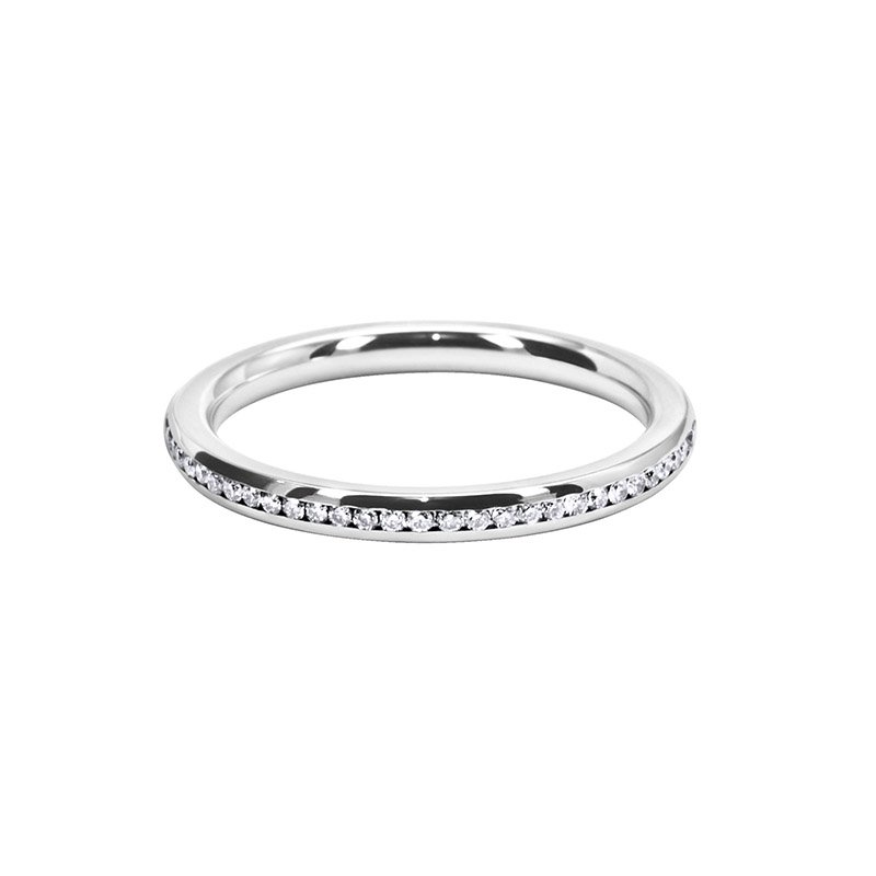 0.30ct Channel Set Diamond Wedding Band