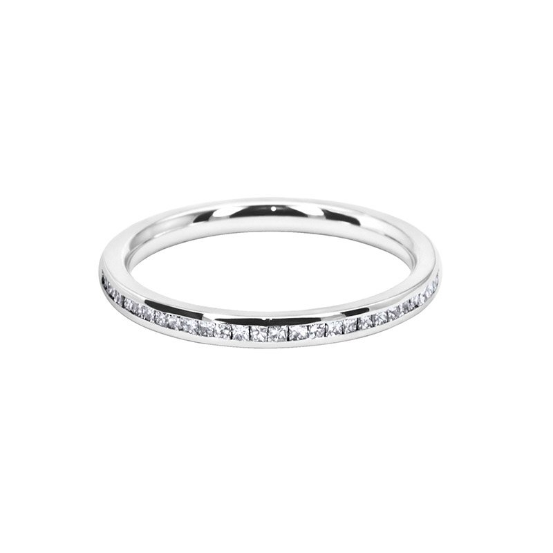 0.30ct Channel Set Diamond Wedding Band 2