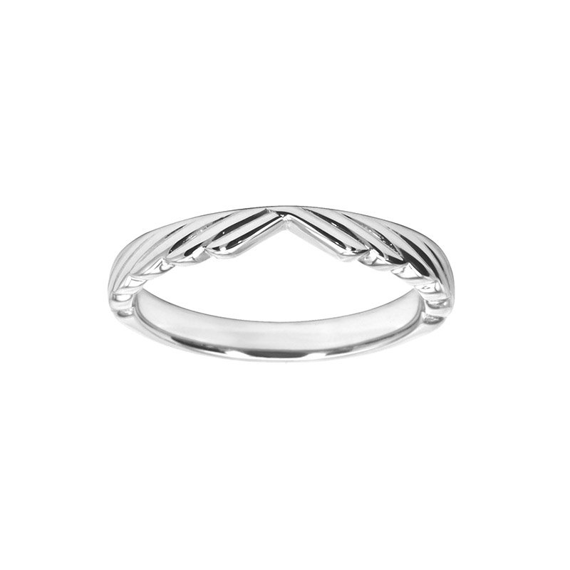 Decorative Shaped Wedding Ring