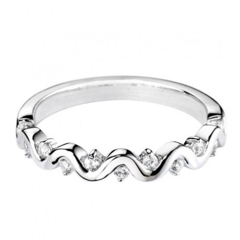 0.15ct Decorative Diamond Set Band