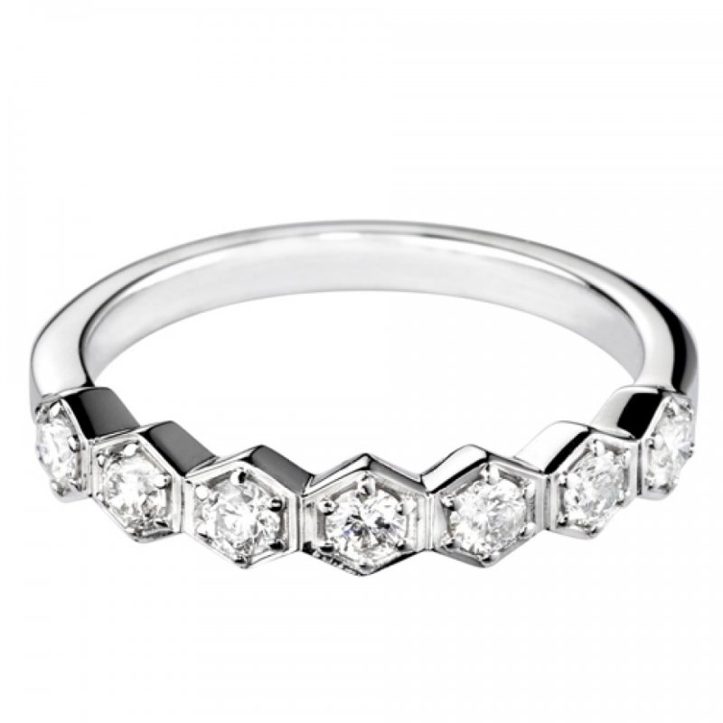 0.42ct Decorative Diamond Set Band 2